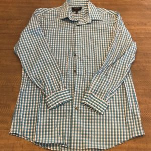 Apt 9 Slim Stretch Button Down